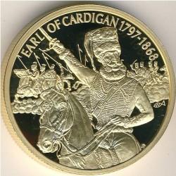 Moneta > 2dollari, 2004 - Caraibi Orientali  (Capi militari britannici - James Brudenell, VII conte di Cardigan) - reverse