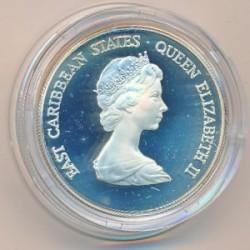 Νόμισμα > 50Δολάρια, 1981 - Ανατολική Καραϊβική  (Internacional Year of Disabled Persons) - obverse