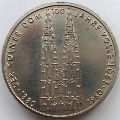 5 Mark 1980 Kolner Dom Deutschland Munzen Wert Ucoin Net