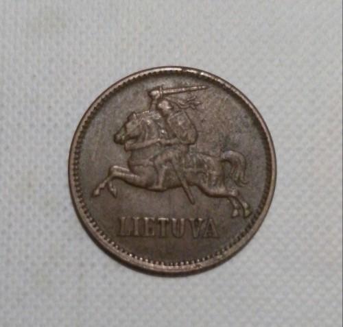 5 centai lietuva 1936 цена аверс 9