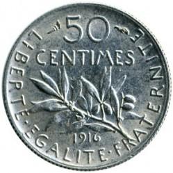 Moneda > 50centimes, 1897-1920 - França  - reverse