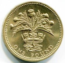 מטבע > 1פאונד, 1984 - בריטניה  - reverse