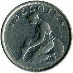 Münze > 2Franken, 1923-1930 - Belgien  (Legend in Dutch - 'BELGIË') - obverse