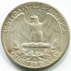 Moneda > ¼dólar, 1932-1964 - Estados Unidos  (Washington Quarter) - reverse