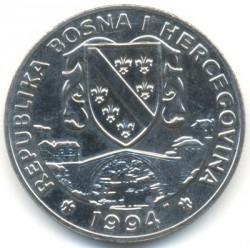 מטבע > 1סוברן, 1994 - בוסניה והרצגובינה  (Horses - Lipizzaner) - obverse