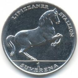 מטבע > 1סוברן, 1994 - בוסניה והרצגובינה  (Horses - Lipizzaner) - reverse