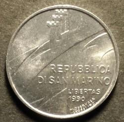 Moneda > 2liras, 1990 - San Marino  (Dieciséis siglos de historia) - obverse