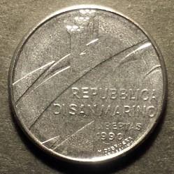 Монета > 50лір, 1990 - Сан-Марино  (Шістнадцять століть історії) - obverse