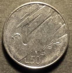 Монета > 50лір, 1990 - Сан-Марино  (Шістнадцять століть історії) - reverse