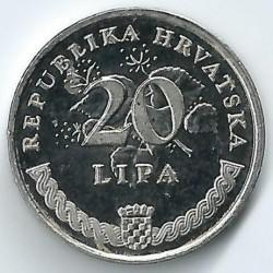 Монета > 20липа, 1994-2018 - Хърватия  - reverse