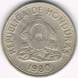 Монета > 5сентаво, 1931-1980 - Гондурас  - obverse