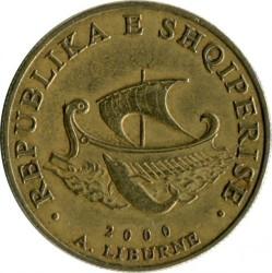 Moneda > 20lekë, 1996-2000 - Albania  - obverse