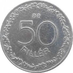 Münze > 50Filler, 1953-1966 - Ungarn  - reverse