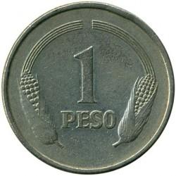 Moneda > 1peso, 1974-1981 - Colòmbia  - reverse
