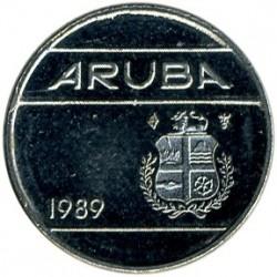 Νόμισμα > 10Σέντς, 1989 - Αρούμπα  - obverse