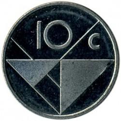 Νόμισμα > 10Σέντς, 1989 - Αρούμπα  - reverse