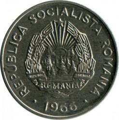Монета > 15бани, 1966 - Румъния  - reverse