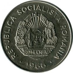 Coin > 25bani, 1966 - Romania  - obverse