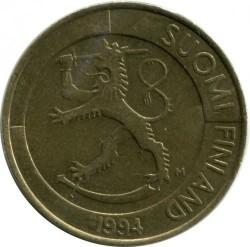 Монета > 1марка, 1993-2001 - Финляндия  - obverse