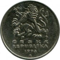 Moneta > 5corone, 1993-2019 - Repubblica Ceca  - obverse