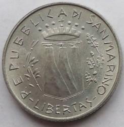 Монета > 2ліри, 1981 - Сан-Марино  (Мир) - obverse
