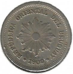 Moneta > 1centésimo, 1901-1936 - Uruguay  - obverse