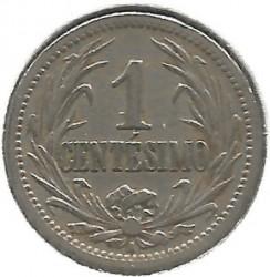 Moneta > 1centésimo, 1901-1936 - Uruguay  - reverse