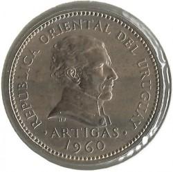 Monedă > 1peso, 1960 - Uruguay  - obverse