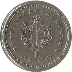 Monedă > 1peso, 1960 - Uruguay  - reverse