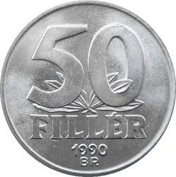 Moneda > 50fillér, 1990-1999 - Hungría  - reverse