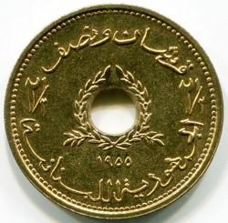 Moneta > 2½piastro, 1955 - Libanas  - obverse