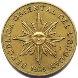 Νόμισμα > 5Πέσος, 1969 - Ουρουγουάη  - obverse