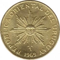 Νόμισμα > 1Πέσο, 1969 - Ουρουγουάη  - obverse