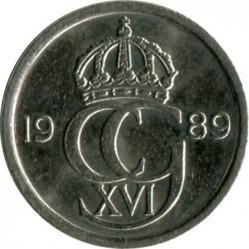 Mynt > 10ore, 1989 - Sverige  - obverse