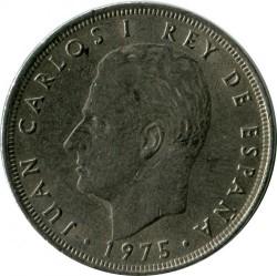 Moneta > 25pesetas, 1975 - Spagna  - obverse