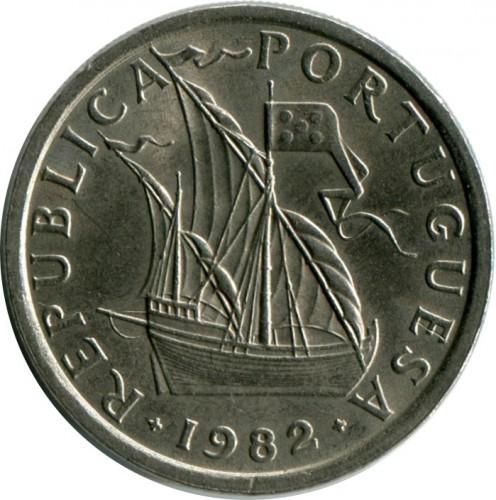 5 Escudos 1963 1986 Portugal Münzen Wert Ucoinnet