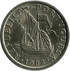 Монета > 5ескудо, 1963-1986 - Португалия  - obverse