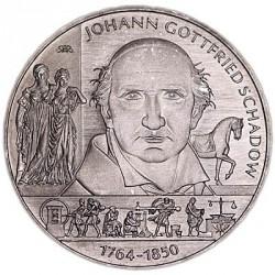 Moneda > 10euros, 2014 - Alemania  (250º Aniversario - El nacimiento de Johann Gottfried Schadow) - reverse