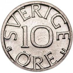 מטבע > 10אירה, 1976-1991 - שוודיה  - reverse