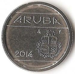 Moneta > 10centų, 2014 - Aruba  - obverse