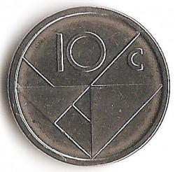 Moneta > 10centų, 2014 - Aruba  - reverse