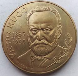Moneta > 10franków, 1985 - Francja  (100 rocznica śmierci - Victor Hugo) - obverse