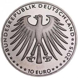 Moeda > 10euro, 2015 - Alemanha  (Contos de Grimm  –  A Bela Adormecida) - obverse