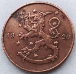 Münze > 10Penny, 1920 - Finnland  - obverse