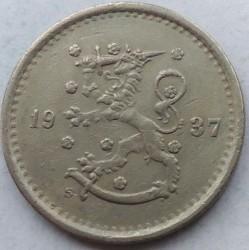 Münze > 50Penny, 1937 - Finnland  - obverse