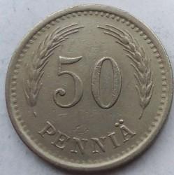 Münze > 50Penny, 1937 - Finnland  - reverse