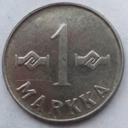 Münze > 1Mark, 1952 - Finnland  (New Type - 'SUOMEN TASAVALTA' on observe, smooth edge) - reverse