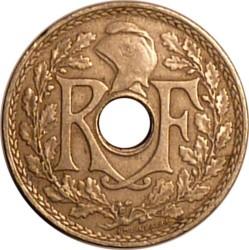 מטבע > 25סנטים, 1938-1940 - צרפת  - obverse