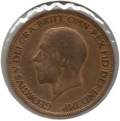 Moeda > ½pence, 1931 - Reino Unido  - obverse