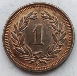 錢幣 > 1拉彭, 1850-1941 - 瑞士  - reverse